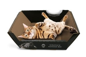 cheap cat scratching post Omega Paw Ripple Board