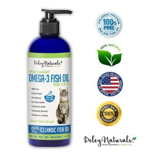 Best Fish Oil for Cats / Fluffy Kitty
