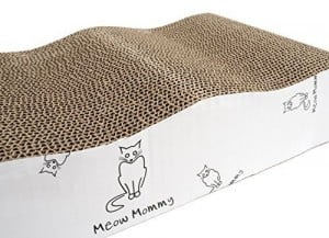 Cat scratcher from the meow mommy