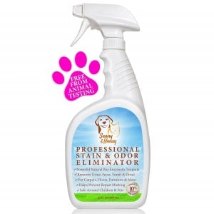 Sunny and Honey professional stain and odor eliminator