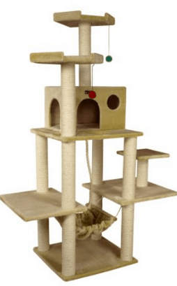 Sturdy cat trees for large cats