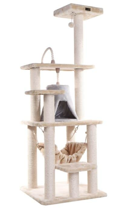 amarkat-2 best cat tree furniture with hammock