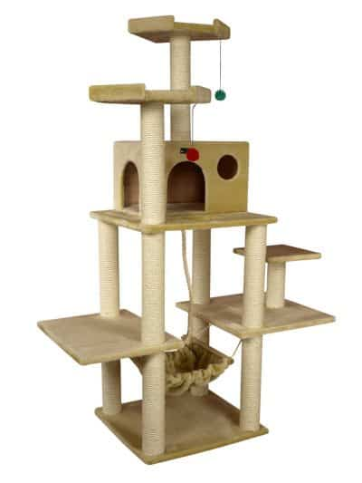 amarkat best cat tree with hammock