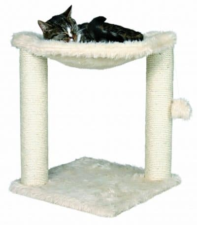 trixie small cat tree with hammock