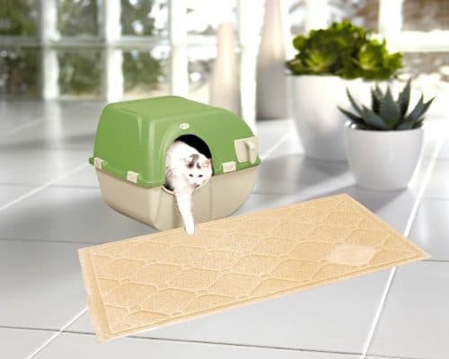 Best cat litter mat on a budget